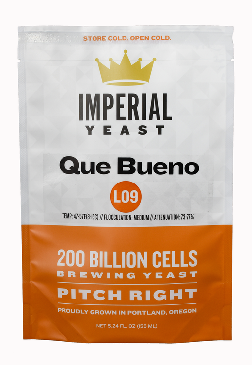 Imperial Organic Yeast L09 Que Bueno Mexican Style Lager Yeast Pitchright