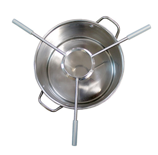 "Stainless Steel Kettle Spider 4"" Tri-Clover Ferrule"