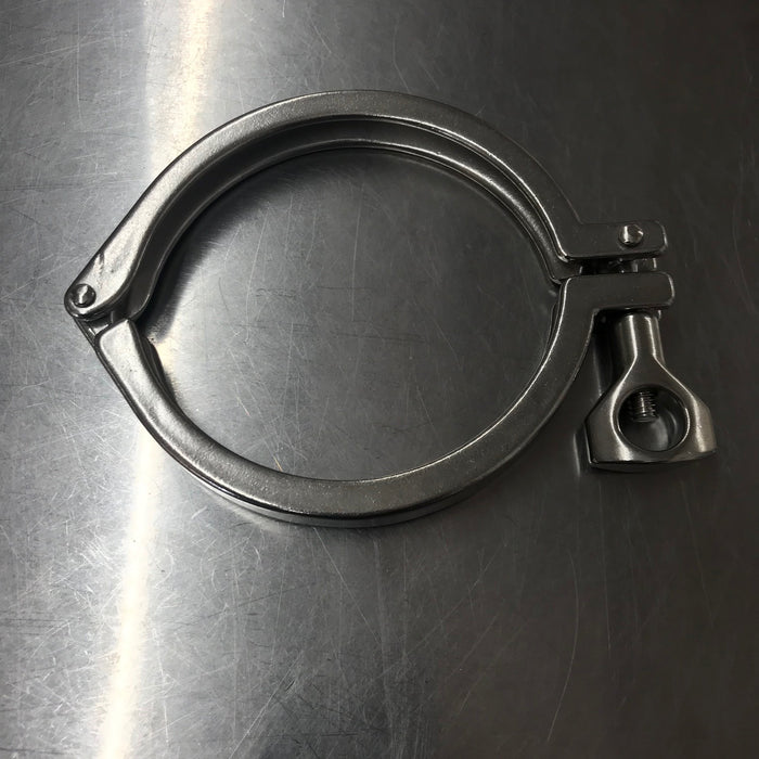 "4"", Tri-Clover, triclover, Tri-Clamp, triclamp, tri clover, tri clamp, sanitary, fitting, stainless, SS 304, distillation, distil, distilling"