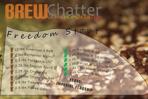 Freedom Stout All Grain Beer Recipe Kit