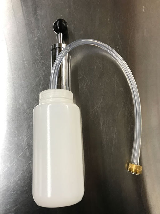 Draft Cleaning Bottle and Pump
