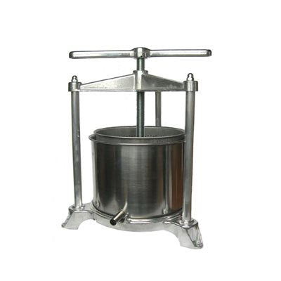 Fruit Press - Aluminum 5 Liter Basket, Fruit Press - BrewChatter HomeBrew Supply