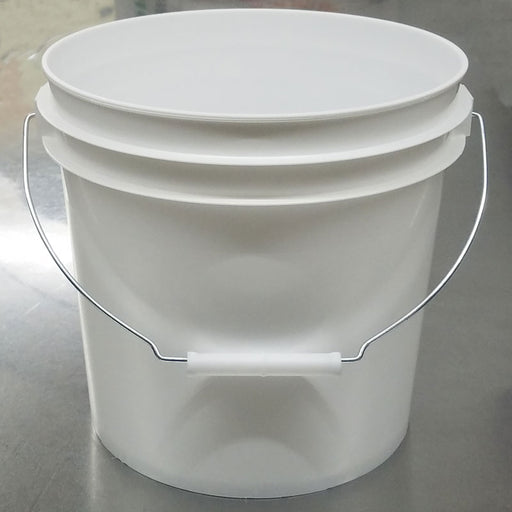 2 Gallon Food Grade Plastic Bucket for homebrew, winemaking, mead, cider and hard seltzer