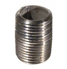 "Stainless 1/2"" X 1"" Nipple (Close)"