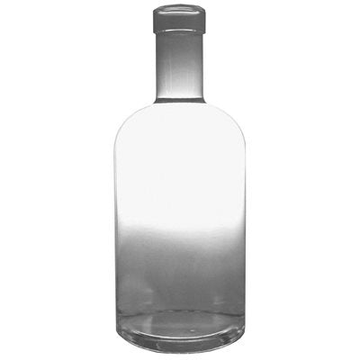 Clear Oregon Design Spirit Bottle 750 mL  Case of 12, Wine Bottles - BrewChatter HomeBrew Supply