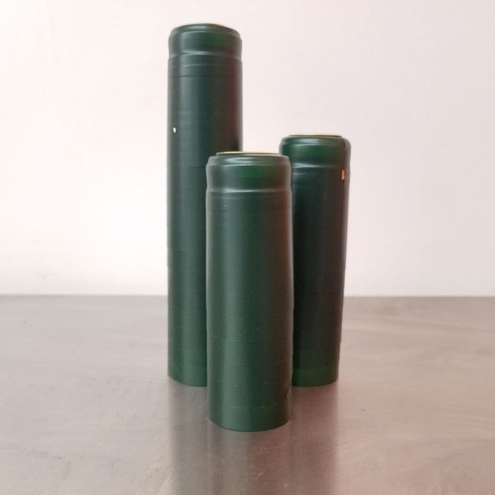 Heat Shrink Sleeves - Matte Green Pack of 25, Corks and Closures - BrewChatter HomeBrew Supply