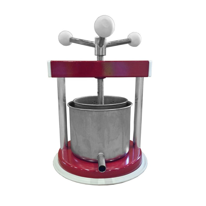 Fruit Press - 1.3 L Aluminum/SS, Fruit Press - BrewChatter HomeBrew Supply
