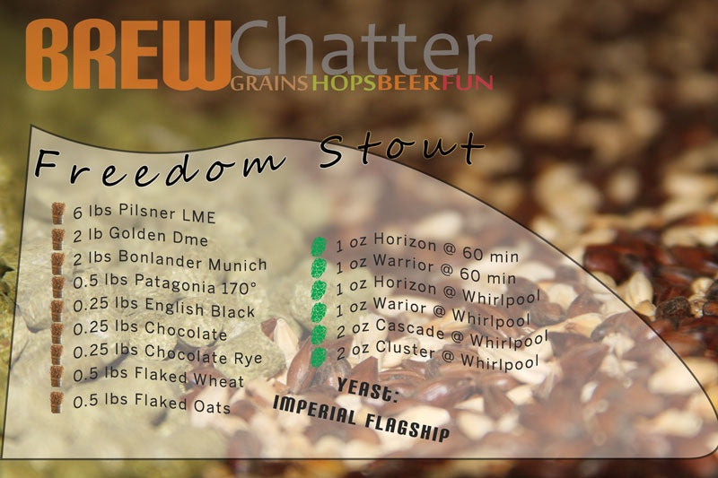 Freedom Stout Extract Beer Recipe Kit