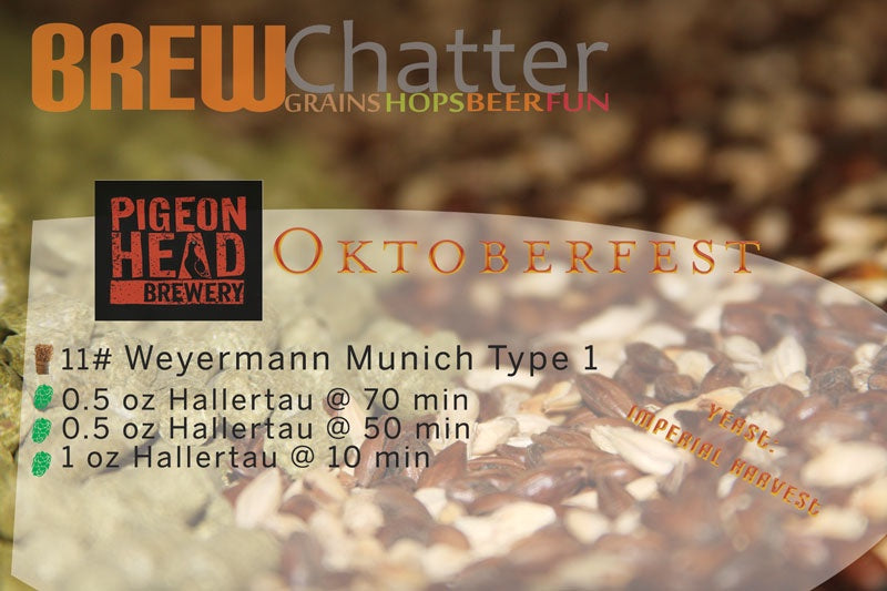 Pigeon Head Brewery Oktoberfest 5 Gallon All Grain Beer Ingredient Kit