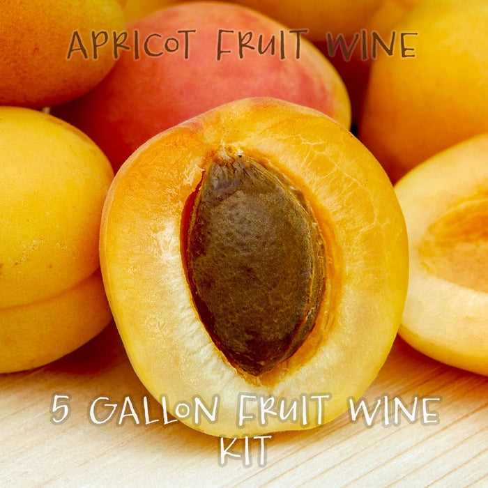 5 Gallon Fruit Wine Kit Apricot