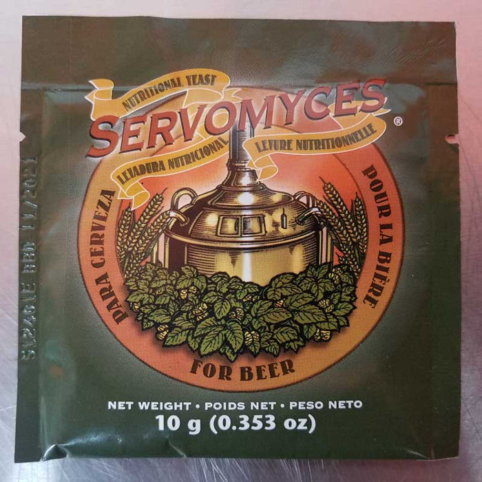 Lallemand Servomyces 10 g, Yeast Nutrients - BrewChatter HomeBrew Supply
