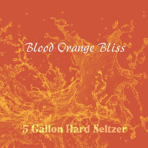 5 Gallon Hard Selzer Kit Blood Orange Bliss