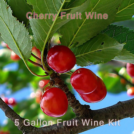 5 Gallon Fruit Wine INgredient Kit Cherry