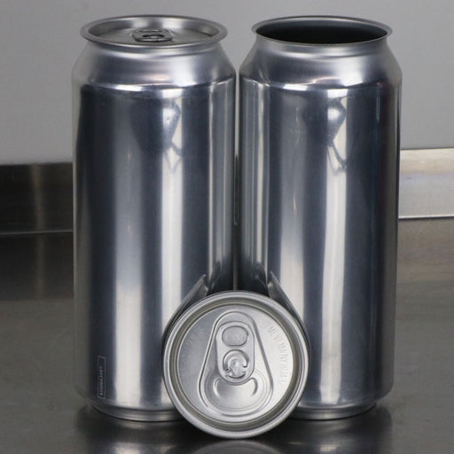 16 oz Can Single with Lid for home canning machine