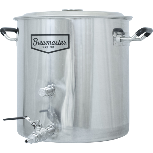 Pot, Kettle, mash tun, stainless steel, ball valve, weld, welded, pots,