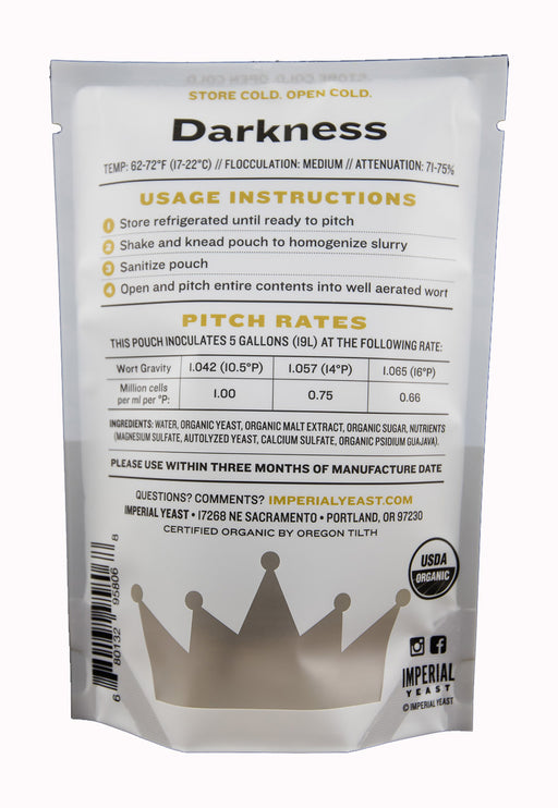 A10 Darkness - Imperial Yeast