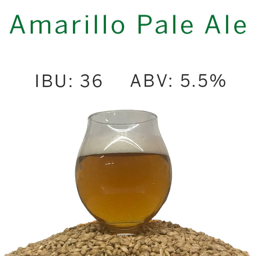Amarillo Pale Ale – All Grain