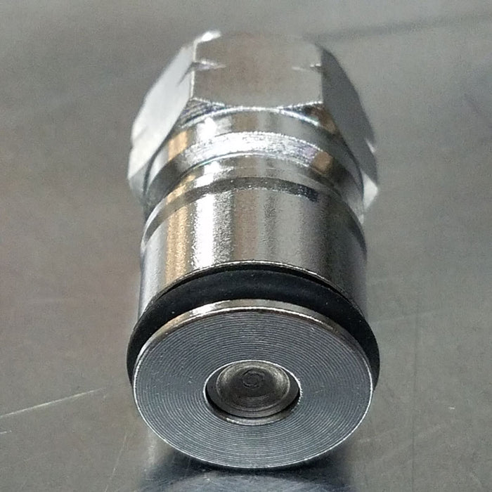 Gas Ball Lock Body Connect Post with Poppet Stainless Steel