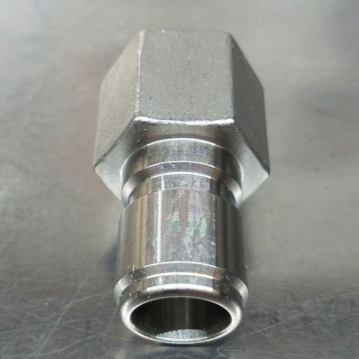 "Ball Lock Quick Disconnect - Male QD x 1/2"" Female NPT, Stainless Hardware - BrewChatter HomeBrew Supply"