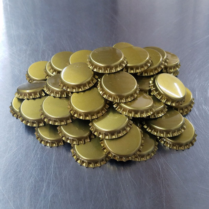 Bottle Caps - GOLD (200 Count)