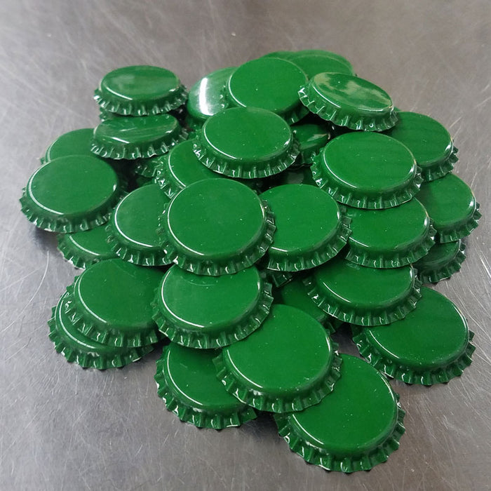 Bottle Caps - Green (48 count)