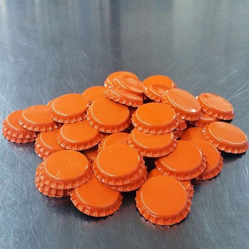 Bottle Caps - Orange