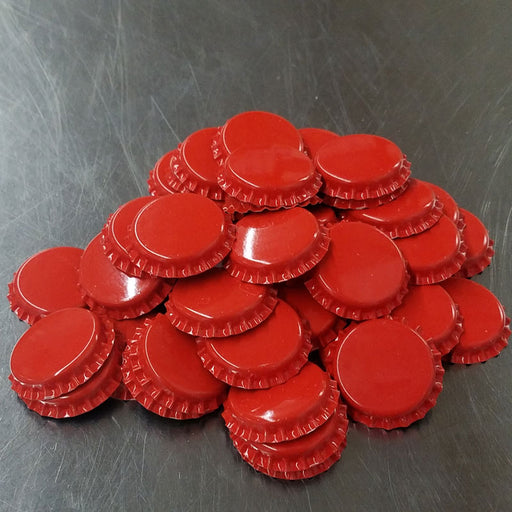 Bottle Caps - RED