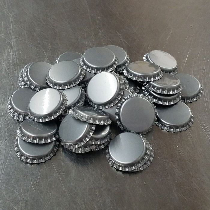 Bottle Caps - Silver (48 count)