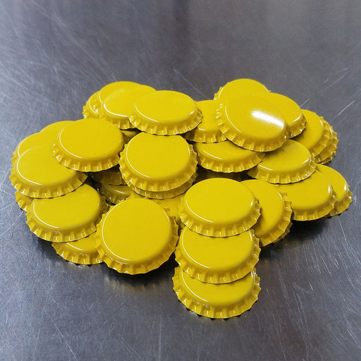 Bottle Caps - YELLOW