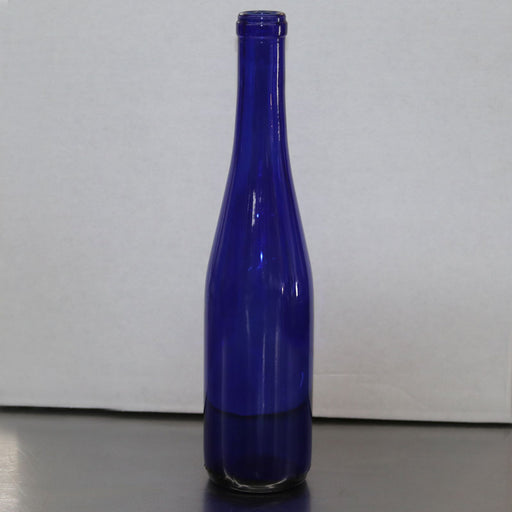 375 mL Split Blue Stretch Hock Wine Bottle, Case of 12
