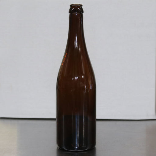 750 mL Amber Champagne Bottle Case of 12