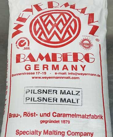 German Pilsner Malt 55lbs, Bulk Grains - BrewChatter HomeBrew Supply