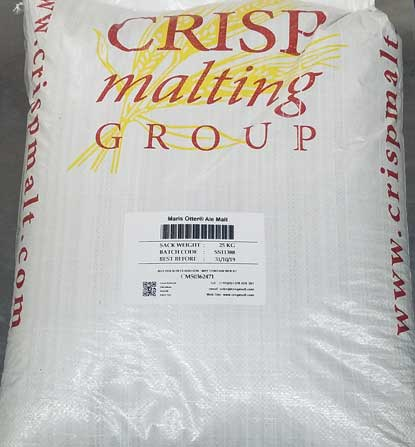 Floor Malted Maris Otter 55lbs, Bulk Grains - BrewChatter HomeBrew Supply
