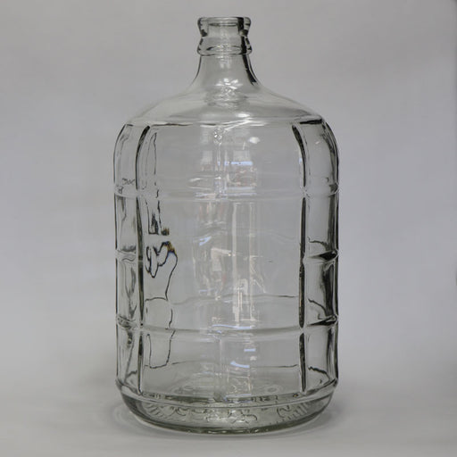 3 Gallon Glass Carboy for beer, wine, mead, cider, hard selzter