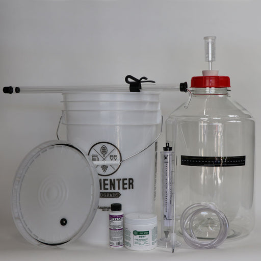Cider Starter Kit 5 Gallon with Fermonster PET Carboy