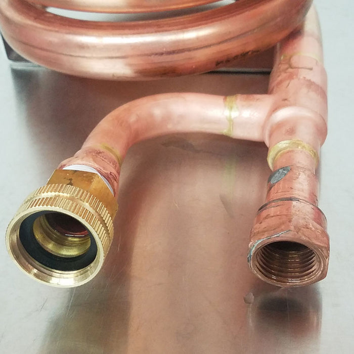 WOrt Chiller - Copper Counter Flow Chiller