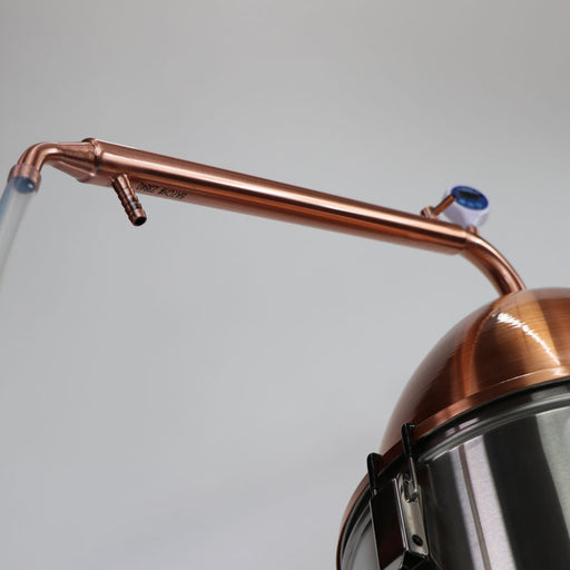 Distillation Starter Kit with Still Spirits Alembic Dome and Condenser