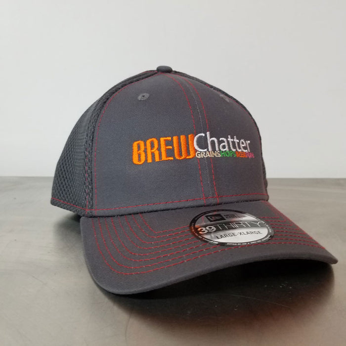 BrewChatter Bi-Color Mesh Hat, BrewChatter Apparel - BrewChatter HomeBrew Supply
