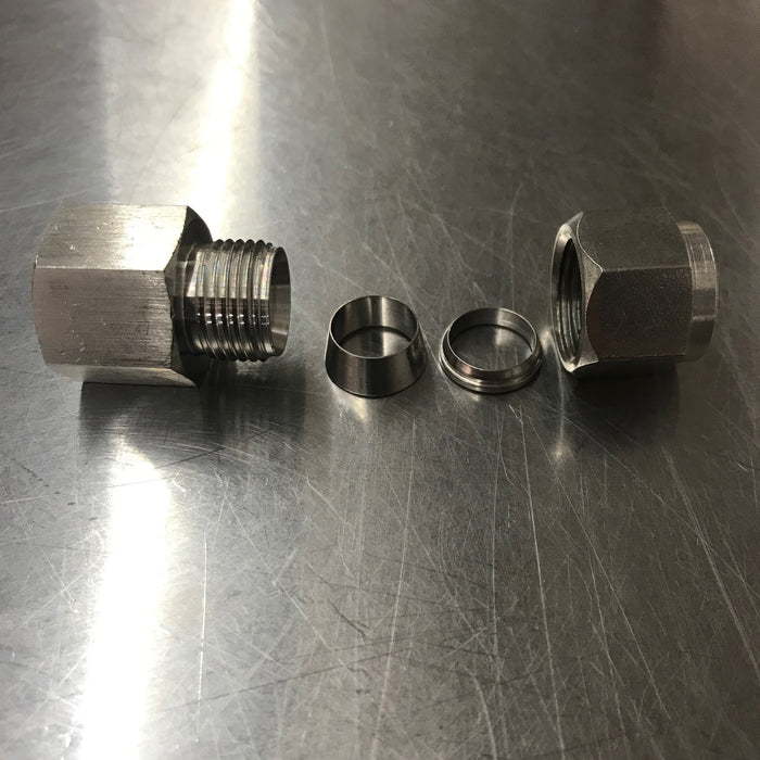 "Compression Fitting 1/2"" x 1/2"" FNPT"