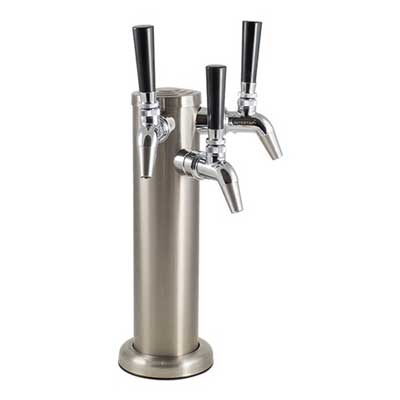 Intertap Stainless Draft Tower, Intertap and Accessories - BrewChatter HomeBrew Supply