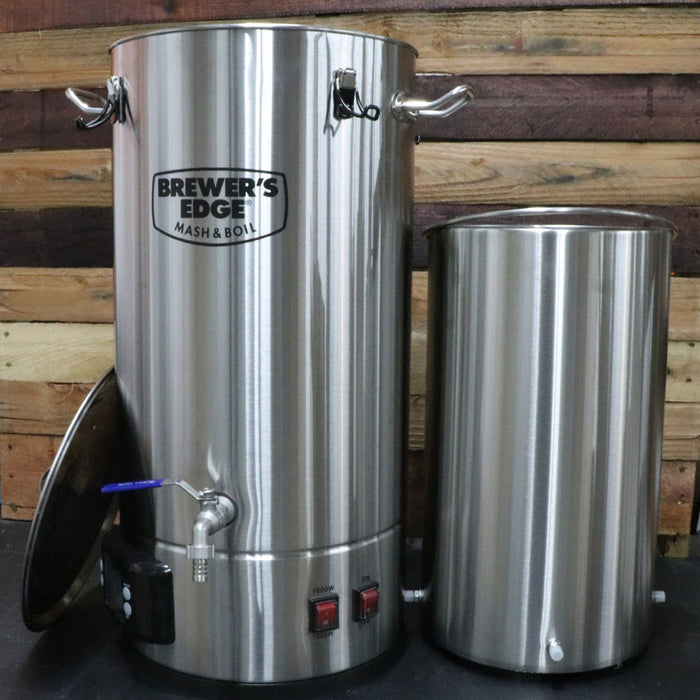 Brewer's Edge Mash & Boil All In One Electric Homebrew System with Pump