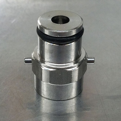 Pin Lock Body Connect Post Gas In Stainless Steel No Poppet