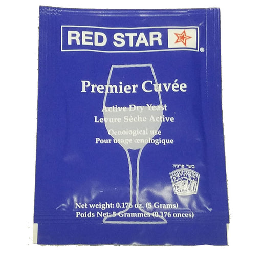 Red Star Premier Cuvee Dry Wine Champagne Yeast