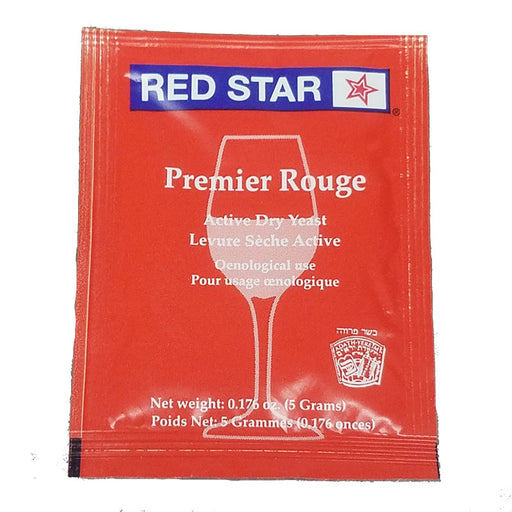 Red Star Premier Rouge Pasteur Red Dry Wine Yeast