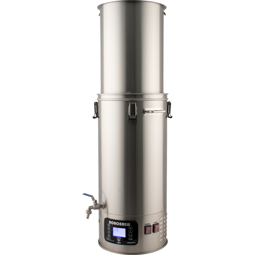 BrewZilla All-In-One Electric Homebrew System all grain brewing no pump