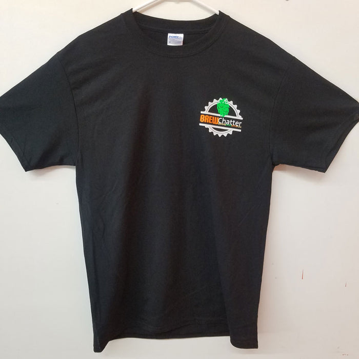BrewChatter Men's Tee - Black, BrewChatter Apparel - BrewChatter HomeBrew Supply