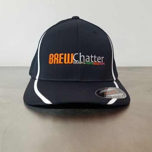 BrewChatter Flexfit Perfomance Hat, BrewChatter Apparel - BrewChatter HomeBrew Supply
