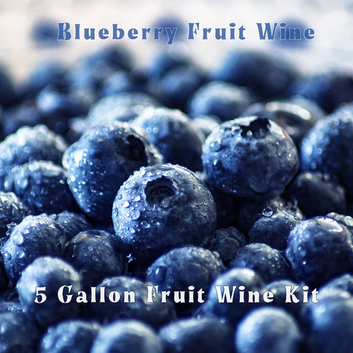 5 Gallon Fruit Wine Ingredietn Kit - Blueberry