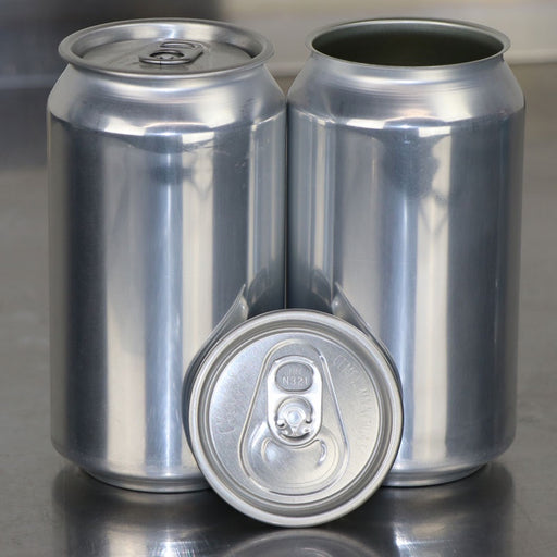 Single 12 oz Can with Lid for Home Canning Machines