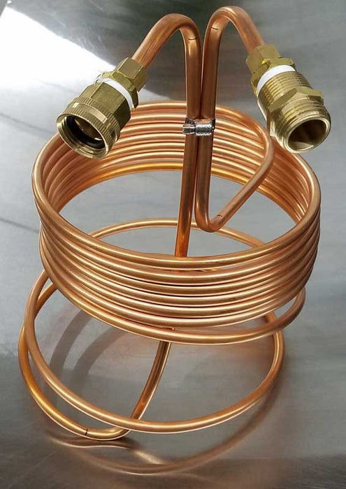 Copper Immersion Chiller 25' X 3/8""